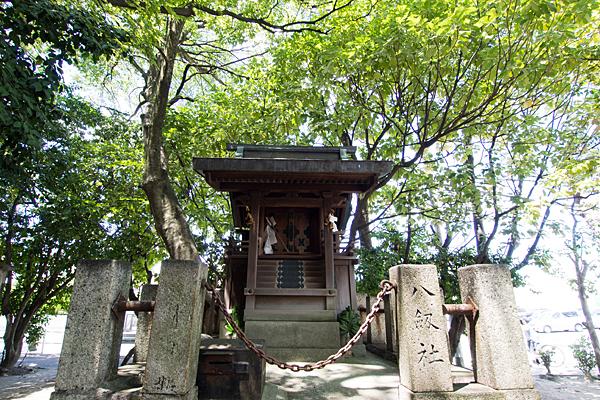 剣町八劔社本殿
