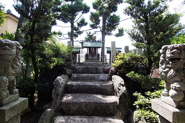 島井町熱田社本殿