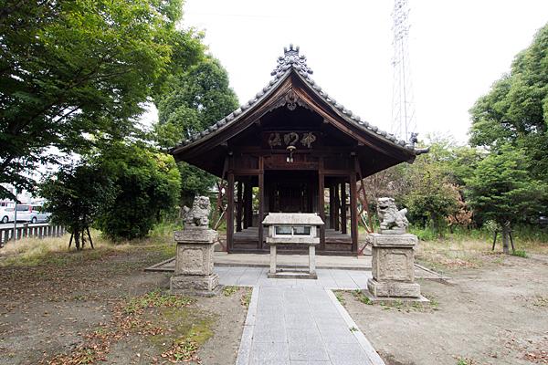 打中神明社拝殿