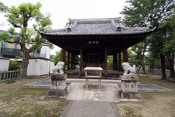 土野町神明社拝殿