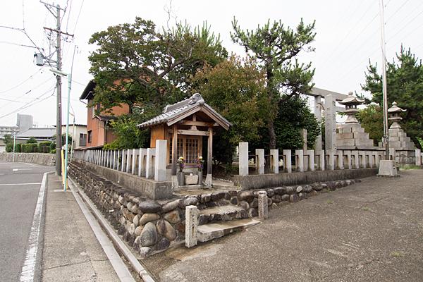 前田西町秋葉神社全景