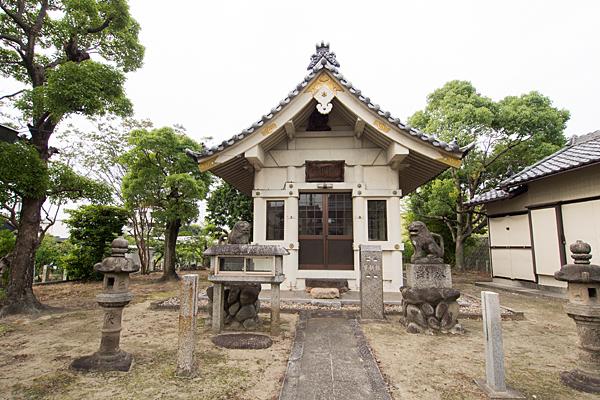 大当郎神明社拝殿