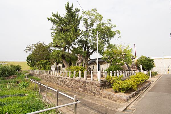 大当郎神明社全景