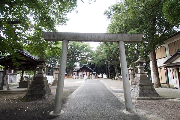 熊野三社三の鳥居