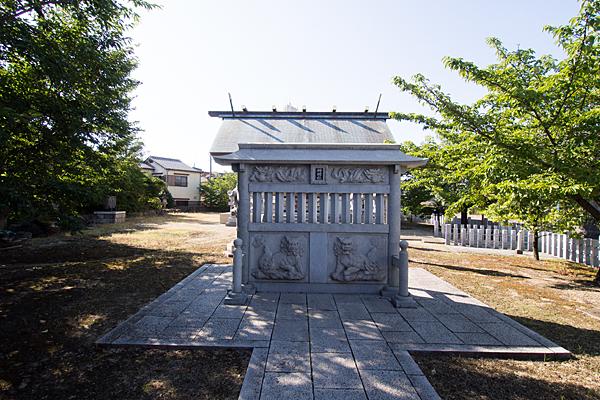 江松神明社蕃塀
