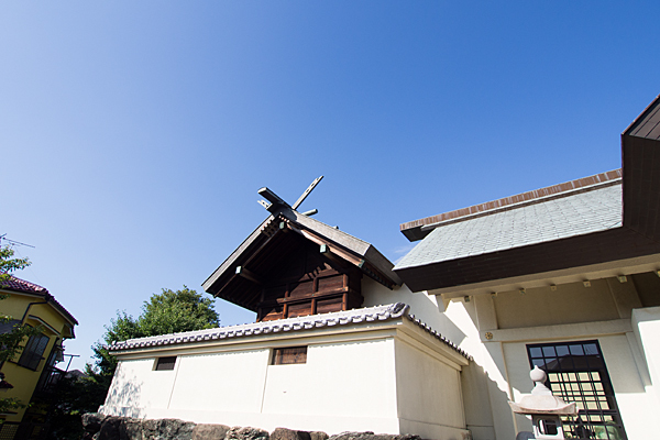 江松神明社本殿