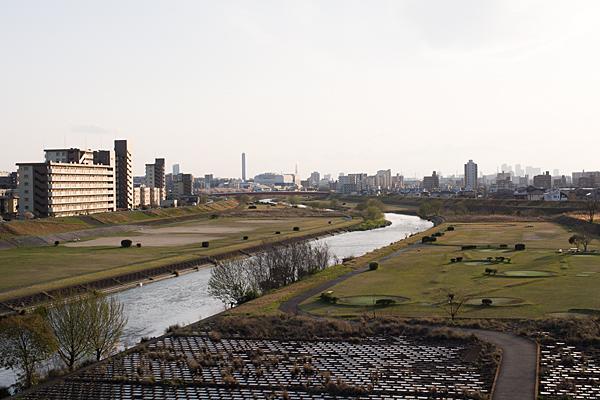 矢田川大森橋より