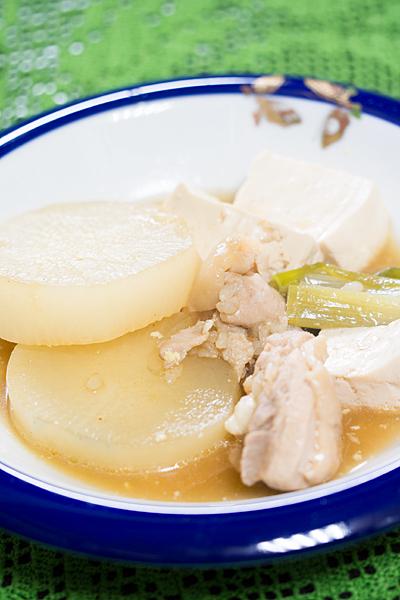 大根と豆腐の煮物