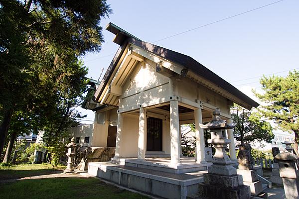 かの里下神明社社殿