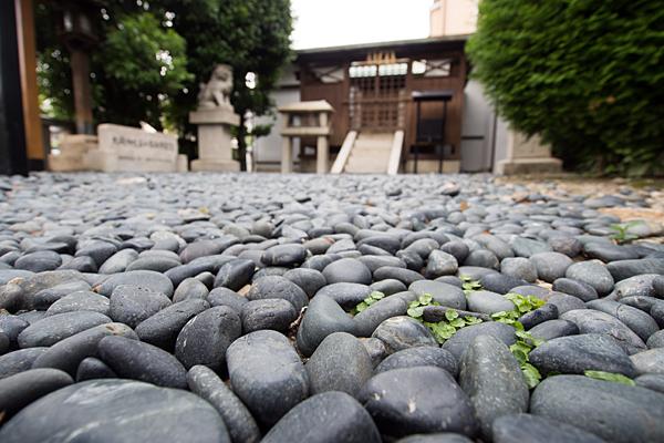 大磯神社玉砂利