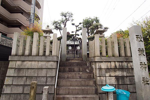 大瀬子町南秋葉社