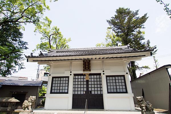 土江神社拝殿