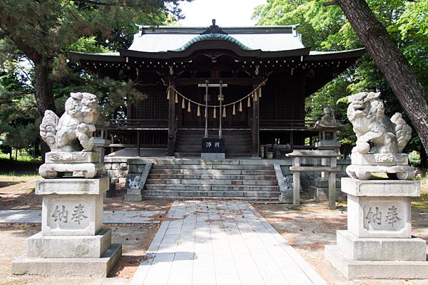 國玉神社拝殿