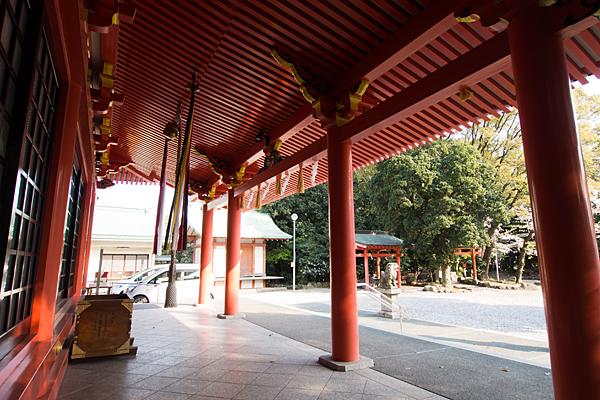 豊藤稲荷神社拝殿の中