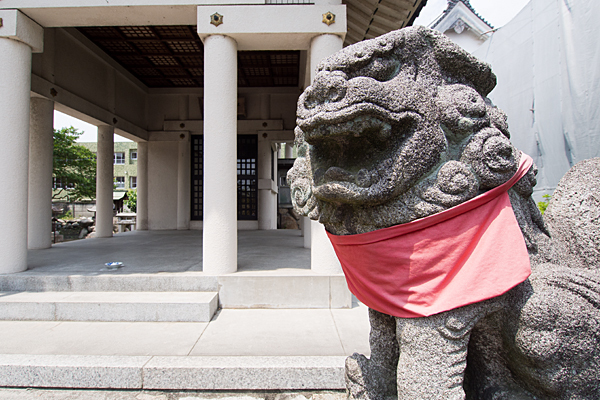 土之宮神明社狛犬