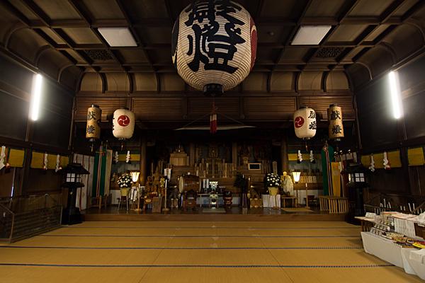 椿大神社行満堂内部
