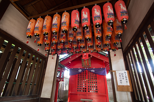 鹽竈神社稲荷さん