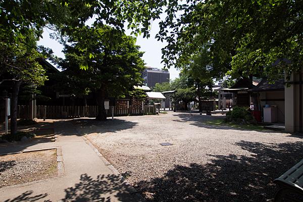 鹽竈神社境内風景