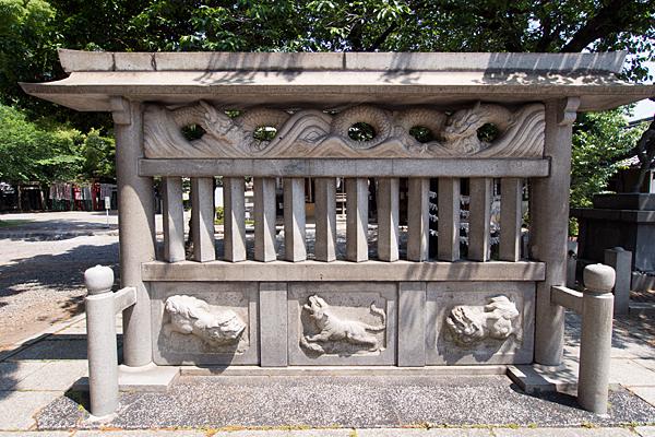 鹽竈神社蕃塀