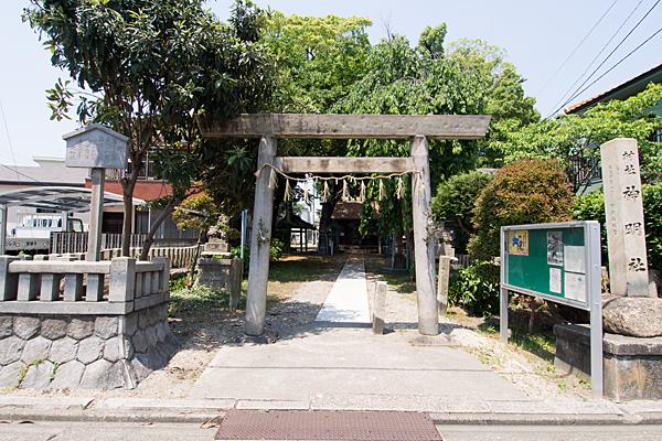 露橋神明社