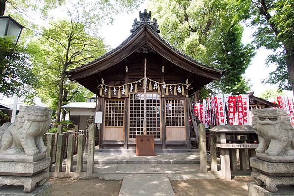 大秋八幡社拝殿