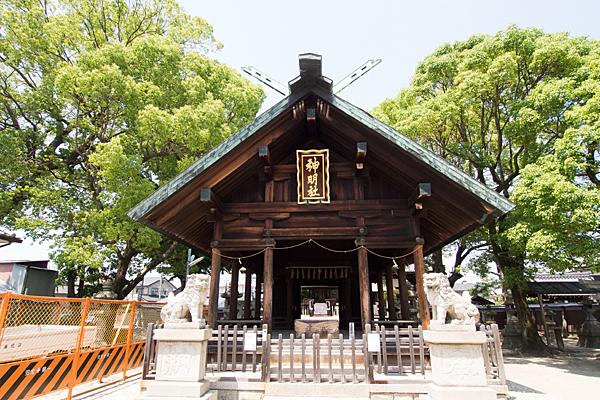 中野神明社拝殿