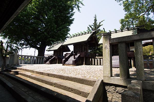 中野神明社本殿