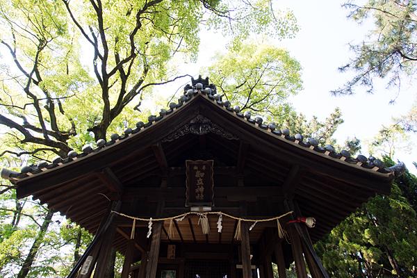 知立社拝殿