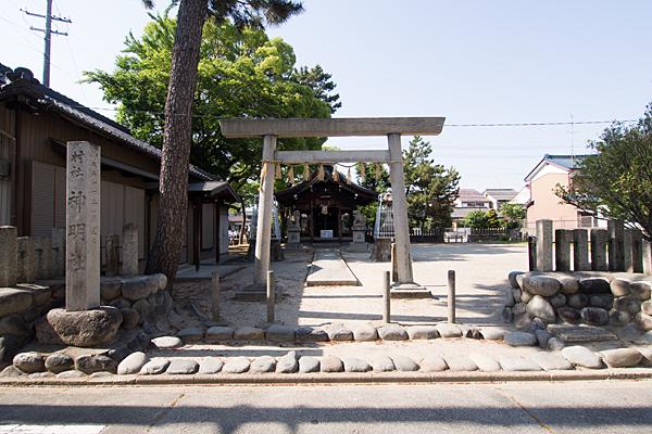 中野新町神明社