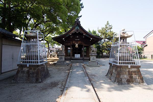中野新町神明社拝殿