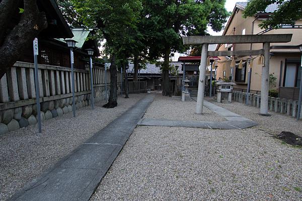 長戸井町金山神社境内社