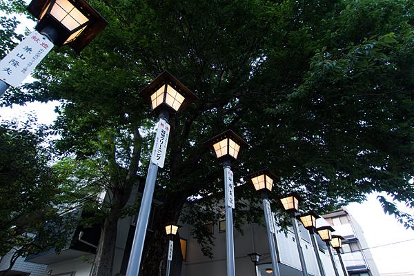 長戸井町金山神社灯り