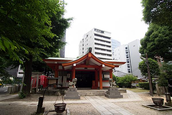 泥江縣神社拝殿