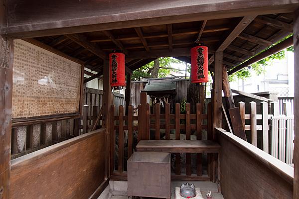 花車神明社稲荷社