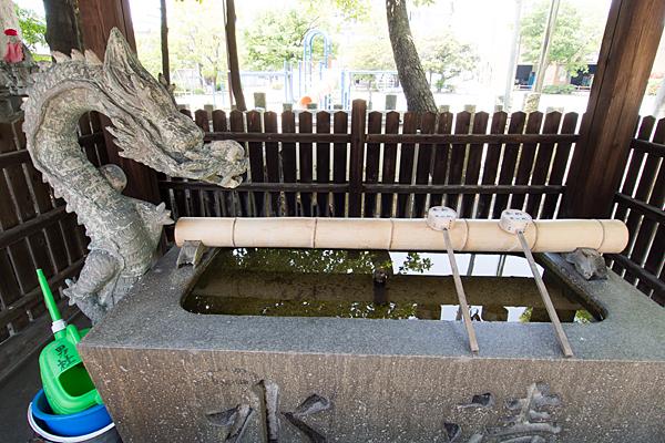 須佐之男社手水舎