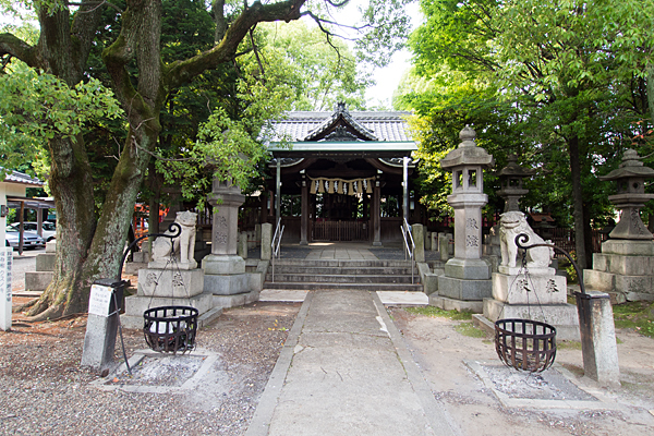住吉社拝殿