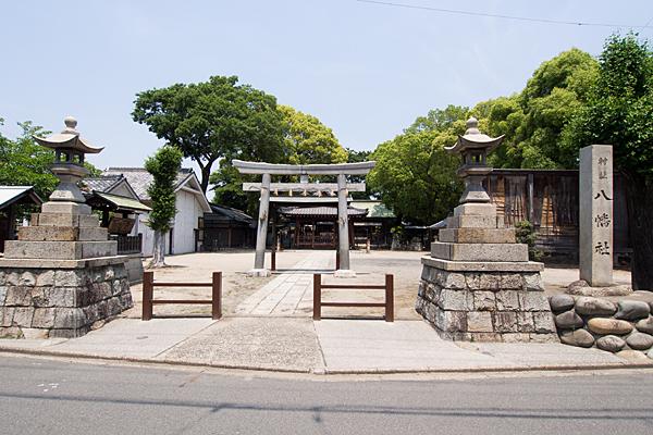 牛立八幡社