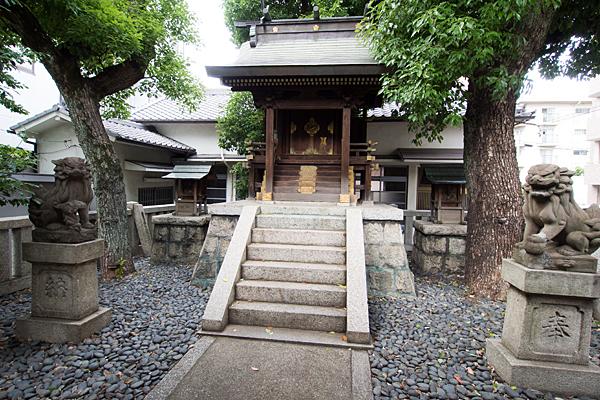 櫻田神社本社と末社