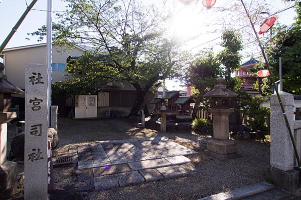 須賀町社宮司社