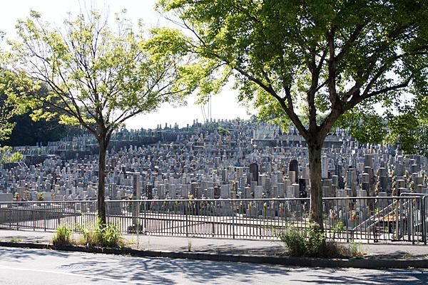 平和公園の墓