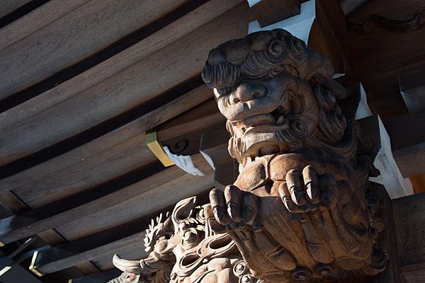 景行天皇社彫り物