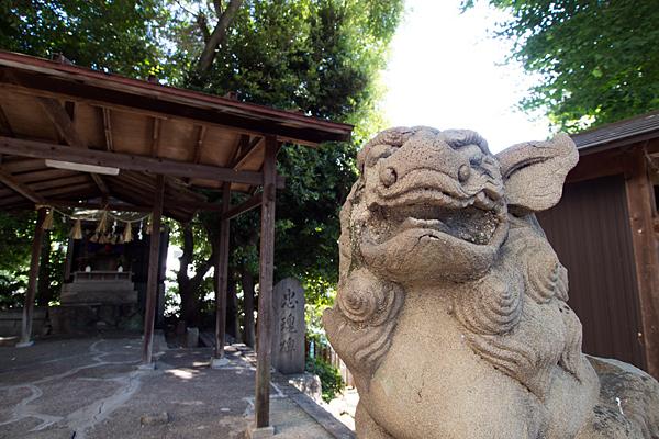 松原山神社狛犬