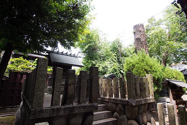 中山神明社本殿