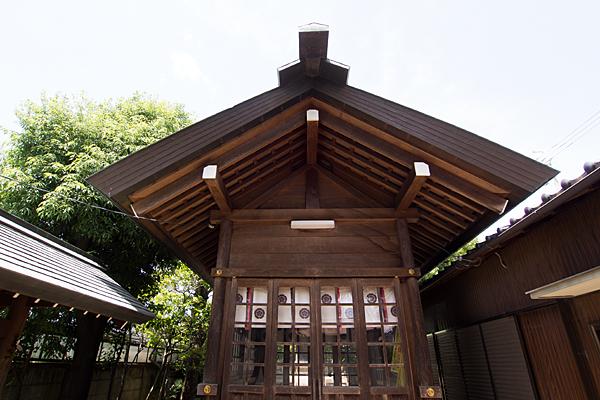 汐見町須佐之男社拝殿