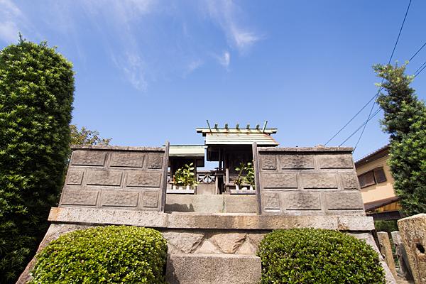 大喜町秋葉社社殿