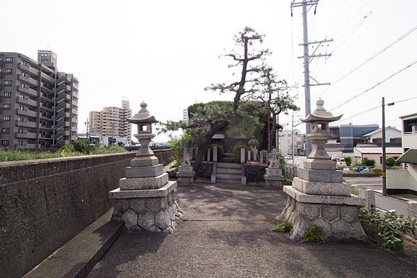 河岸町秋葉神社境内