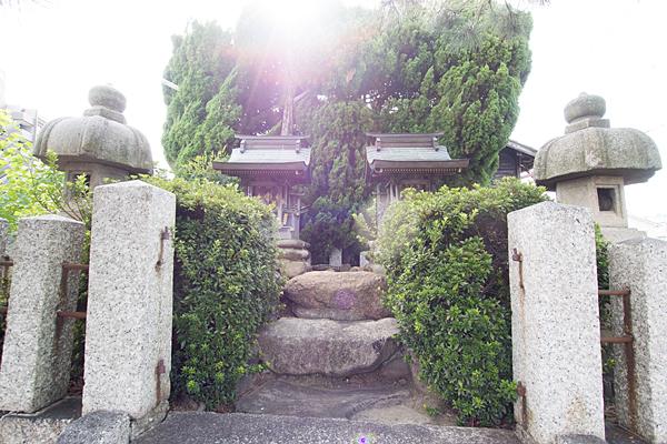 河岸町秋葉神社と金毘羅