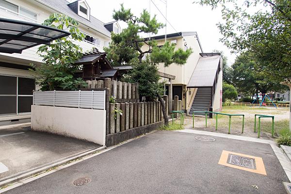内浜神社公園入り口