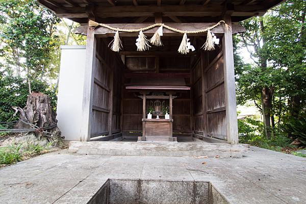 北条八幡社本殿
