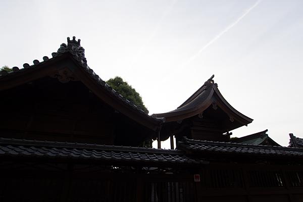 西八幡社社殿